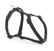Adjustable Harness Ex Small Black 10mm 25-40cm