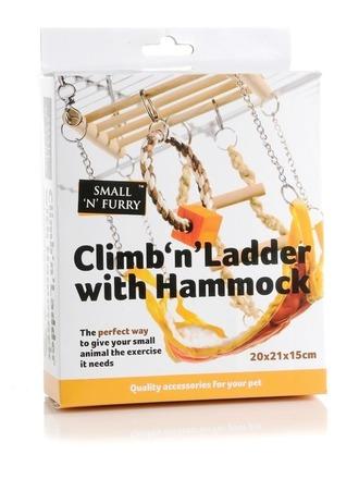 Climb 'n' Ladder with Hammock 17x22x15cm picture
