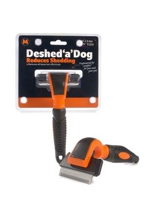 Deshed 'a' Dog Medium Orange/Black 66mm blade picture