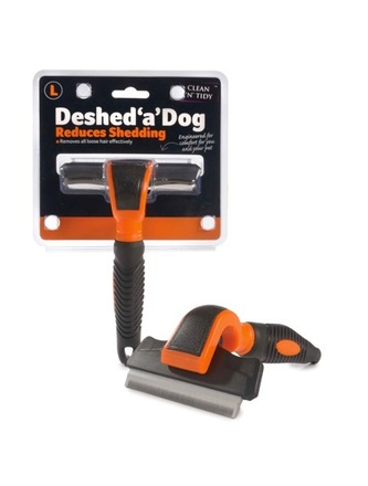 Deshed 'a' Dog Large Orange/Black 100mm blade picture