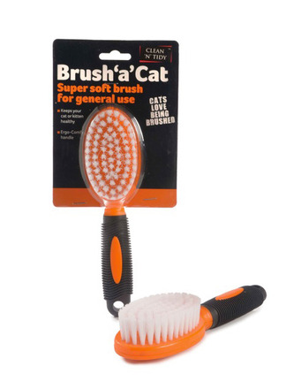 Brush 'a' Cat Orange/Black picture