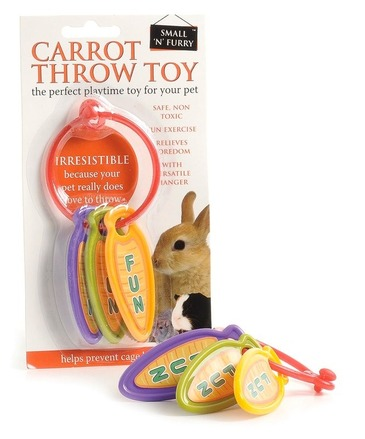 Carrot Throw Rabbit Toy picture