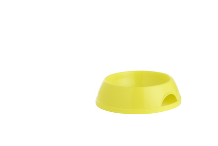 Cat Feeding Bowl Lemon Yellow 200ml picture