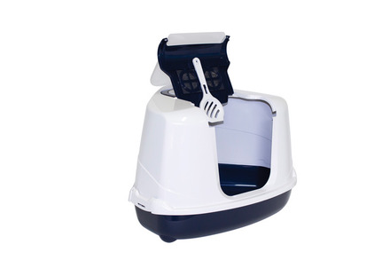 Corner Flip Cat Hooded Loo - Classic Colours picture