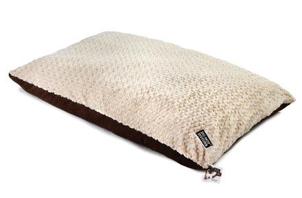 Plush Fur Chocolate Suede Mattress XLarge 100x150cm picture