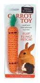 Sisal Carrot Rabbit Toy