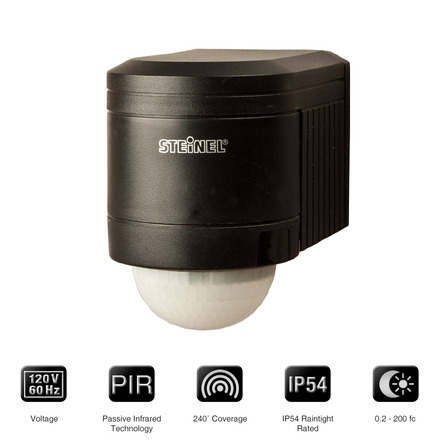 IS240-120 B Wall Mount <br> Outdoor Occupancy Sensor picture