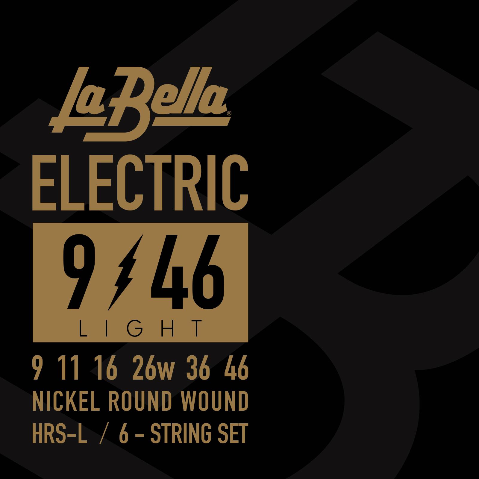 hrs ul electric guitar ultra light 8 38 la bella strings. Black Bedroom Furniture Sets. Home Design Ideas