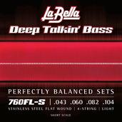 760FL-S Deep Talkin' Bass Flats - Light 43-104, Short Scale