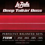 750N Black Nylon Tape, Light 50-105