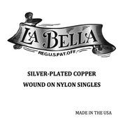 Single Silver Plated Wound on Nylon 024