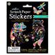 Rainbow and Friends Scratch Paper Sticke