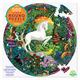 Unicorn Garden 500 Piece Round Puzzle