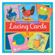 Friendly Animal Square Lacing Cards
