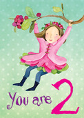 Sweet Fairy 2 Birthday Card