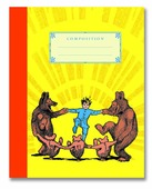 Dancing Bears Composition Notebook