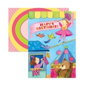 Fairy Circus Birthday Card