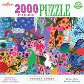 Peacock Garden 2000 Piece Puzzle