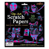 Op-Art Scratch Papers