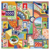 UFO Victorian Ladies 1008 Pc Puzzles