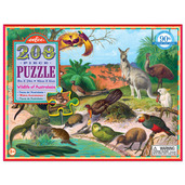 Wildlife of Australasia 208pc Puzzle