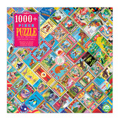 Firecracker Label 1000+ Piece Puzzle