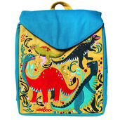 Dinosaur Party Small Backpack