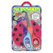 Lady Bug Simple Scissors