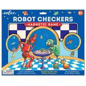 Robot Checkers Magnetic Game
