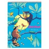 Raccoon and Owl Sketchbook