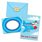 Plane 2 Birthday Card