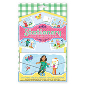 Paper Doll Fold-to-Mail Stationery Set