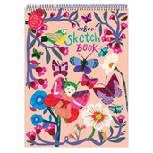 Butterflies and Flowers Sketchbook