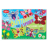 Butterflies and a Spider Shaped Matching Game