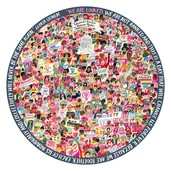 Women March! 500 Piece Round Puzzle