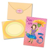 Sweet Fairy 3 Birthday Card