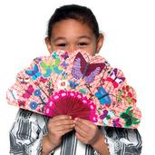 Assorted Paper Fans