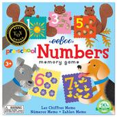 Pre-School Numbers Memory Game