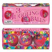 Pink Juggling Balls - Set of 3