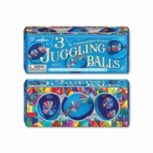 Blue Juggling Balls - Set of 3