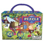 Bear on Bicycle 20 Piece Puzzle