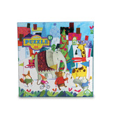Holiday Parade 64 Piece Glitter Puzzle