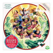 Goddesses & Warriors 500 Piece Round Puzzle