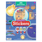 Spaceship Pretend Play Stickers