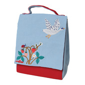 Swan + Strawberries Lunch Bag