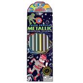 Silver Robot Metallic Pencils