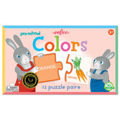 Pre-school Colors Puzzle Pairs