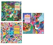 Floral Square Puzzle Bundle