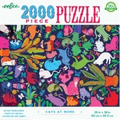 Cats at Work 2000 Piece Puzzle