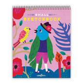 Tweeting Bird Small Sketchbook
